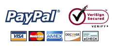 All payments are processed by PayPal